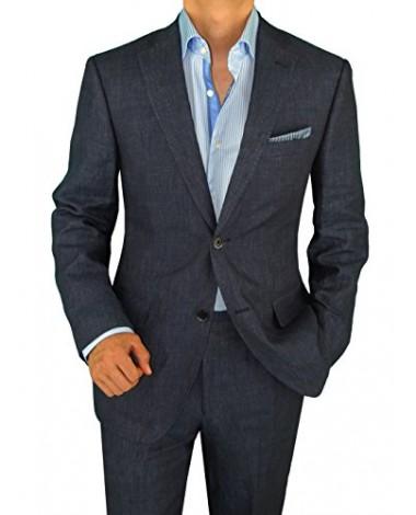 Nicoletti 2 Button Slim Fit Mens Suit Wo - Image1