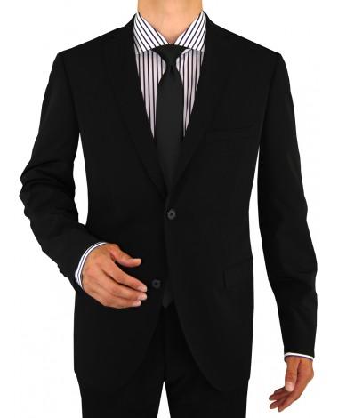 Nicoletti Mens Slim Fit Suit 2 Button Ja - Image1