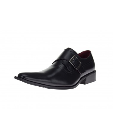 Men's Fashion Clever Loafers Leather Sho - Image1