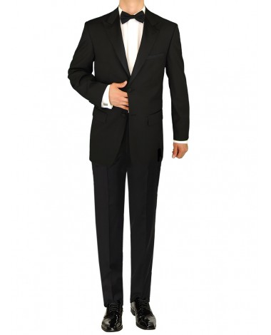 Giorgio Napoli Men's Tuxedo Suit 2 Butto - Image1