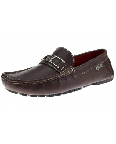 Natazzi Mens Air Grant Bit Leather Shoes - Image1