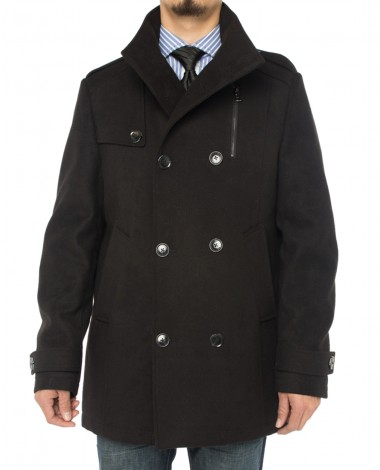Luciano Natazzi Men's Stylish Top Coat C - Image1