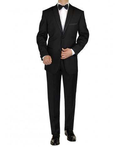 Giorgio Napoli Men's Tuxedo Suit 2 Butto - Image1