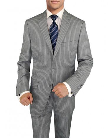 Mens BB Signature 3 Piece Suit Side-Vent - Image1