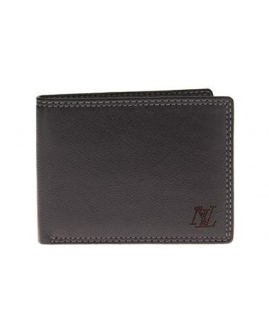 Mens Leather RFID Blocking Bifold Wallet - Image1