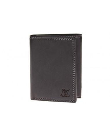 Mens Nappa Leather RFID Blocking Slim Tr - Image1