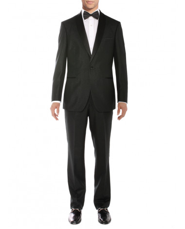 Salvatore Exte Men's One Button Tuxedo S - Image1