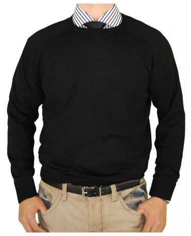 Mens LN Classic Fit Crew Neck Premium Co - Image1