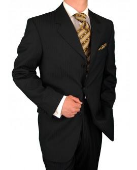 Gino Valentino Men's 2 Piece 3 Button Ja - Image1