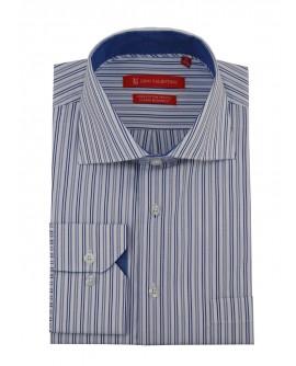 Gino Valentino Mens Striped Dress Shirt  - Image1