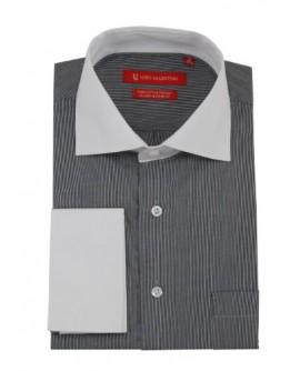 Gino Valentino Mens Stripe Dress Shirt C - Image1