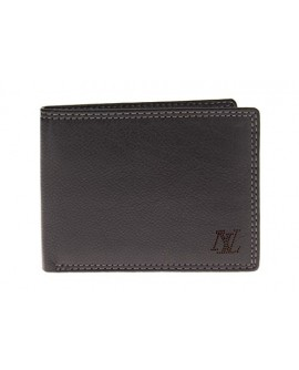 Luciano Natazzi Leather RFID Blocking Bi - Image1