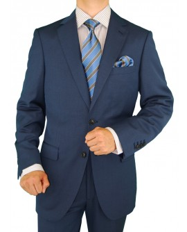 Gino Valentino Men's 2 Button Modern Jac - Image1