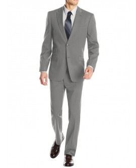 Gino Valentino Men's 2 Piece Two Button  - Image1