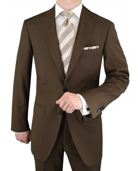 Gino Valentino Men's 2 Button Side Vents - Image1