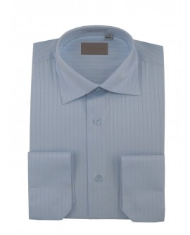 Mens Business Dress Shirt Spread Collar  - Image1