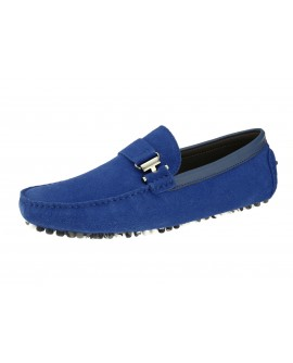 Salvatore Exte Men's Suede Leather Drivi - Image1