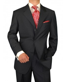 Gino Valentino Men's 3 Button Jacket Fla - Image1