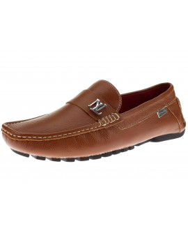 Natazzi Mens Air Grant Canoe Leather Sho - Image1