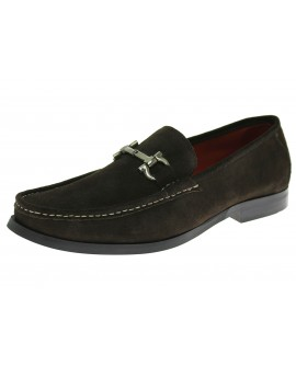 Natazzi Mens Handmade Suede Leather Shoe - Image1