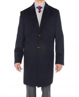 Luciano Natazzi Men's Black Cashmere Woo - Image1