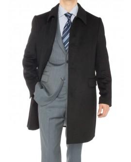 Luciano Natazzi Men's Cashmere Topcoat C - Image1