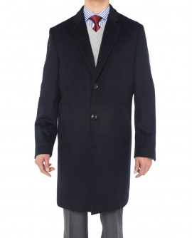 Luciano Natazzi Men's Cashmere Wool Over - Image1