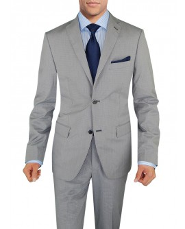 Mens Suit Two Button Modern Fit Jacket 2 - Image1
