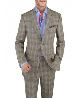 Mens Suit Two Button Jacket 2-Piece Mode - Image1