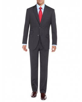 Mens Suit Two Button Ticket Pocket Jacke - Image1
