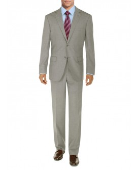 Mens Suit Two Button Side Vent Jacket Fl - Image1