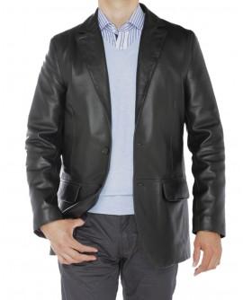 Luciano Natazzi Men's Lambskin Leather B - Image1