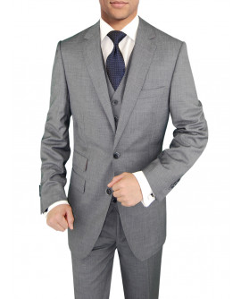 Mens BB Signature 3 Piece Vested Suit Ti - Image1