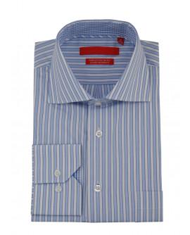 Mens GV Executive Striped Dress Shirt Co - Image1
