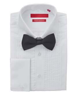 Mens GV Executive Tuxedo Dress Shirt Bow - Image1
