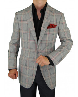 Mens GV Executive Blazer Coat 1 Button W - Image1