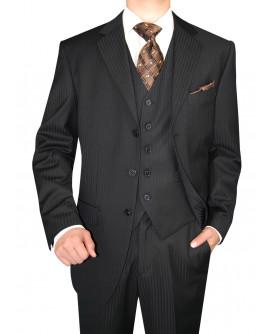 Mens GV Executive 3 Piece Suit Button Ve - Image1