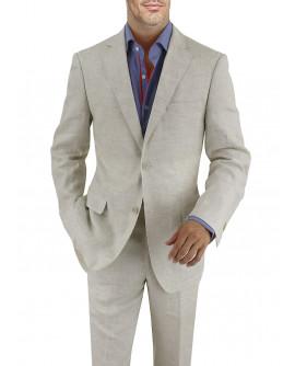 Mens BB Signature Linen Suit Modern Fit  - Image1