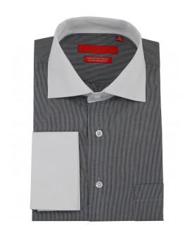 Mens GV Executive Stripe Dress Shirt Cot - Image1