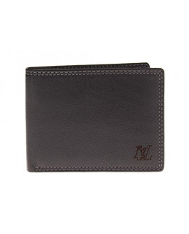 Mens Leather RFID Blocking Bifold Wallet - Image1