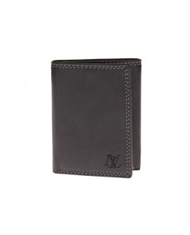 Mens Nappa Leather RFID Blocking Slim Tr - Image1