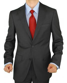 Mens Two Button Blazer Modern Fit Suit S - Image1