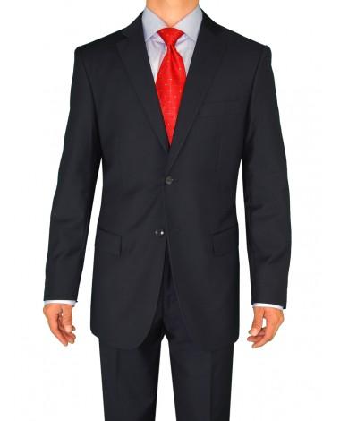 Fuomo Classic Men's 2 Button Business Su - Image1