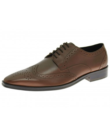 Natazzi Handmade Mens Leather Shoe Gabba - Image1