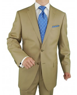 2 Button Mens Suit Nano Luxury Technolog - Image1