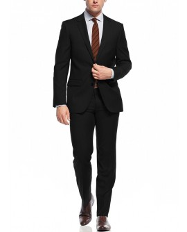 Nicoletti Two Button Slim Fit Men's Suit - Image1