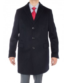 Luciano Natazzi Men's Cashmere Trench Co - Image1