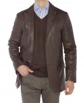 Luciano Natazzi Mens 2 Button Modern Fit - Image1