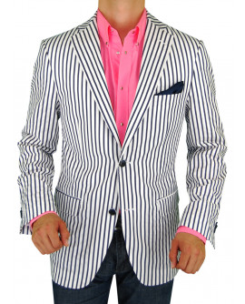 Mens BB Signature Two Button Blazer Trim - Image1