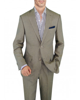 Mens BB Signature Linen Suit Modern Fit  - Image1